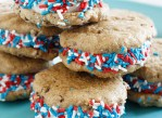 Fro-Yo Cookie Sandwiches | http://www.skinnytaste.com/2012/06/skinny-chocolate-chip-fro-yo-sandwiches.html