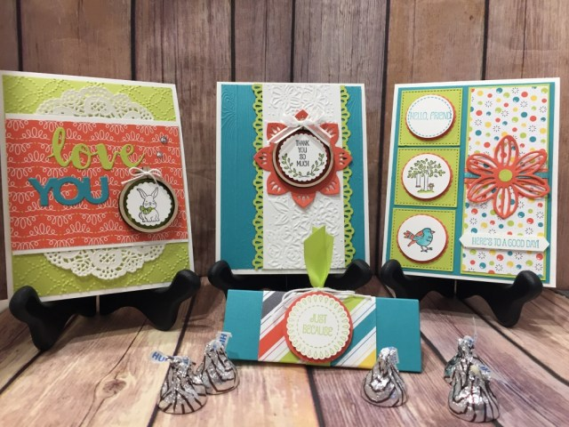 WOW NOLA Creations, Susan Levasseur, Stampin' UP!, February 2018 WOW Class to GO!