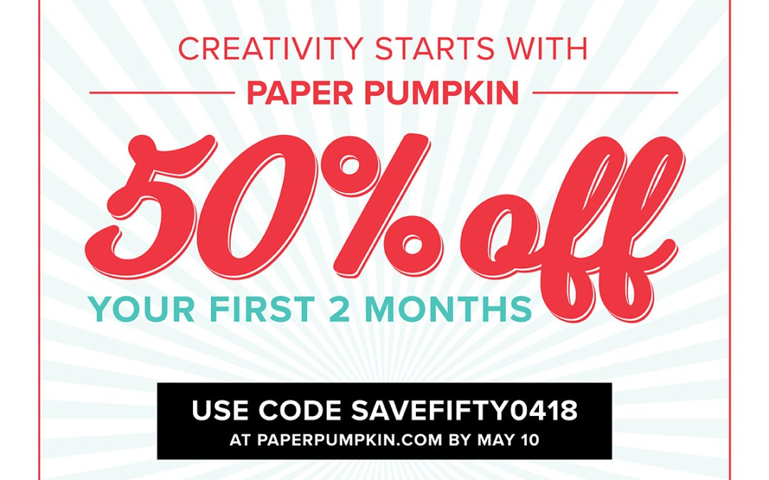 Paper Pumpkin Promo and Giveaway