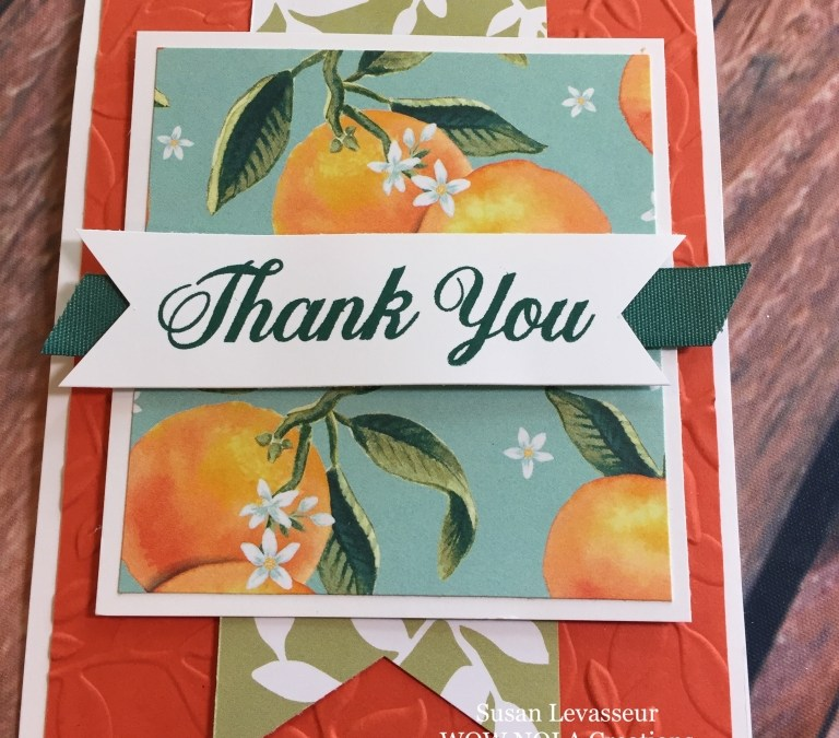 Thank You Card Whole Lot of Lovely