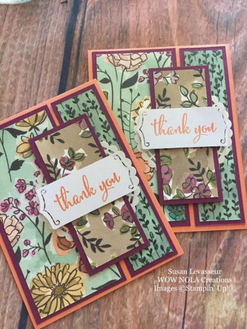 Susan Levasseur, WOW NOLA Creations, Share What You Love, Stampin' Up!