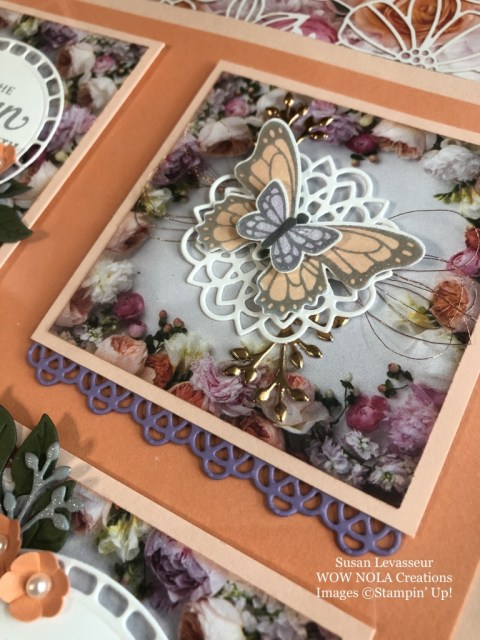 Susan Levasseur, WOW NOLA Creations, Strong & Beautiful Frame, Stampin' Up!