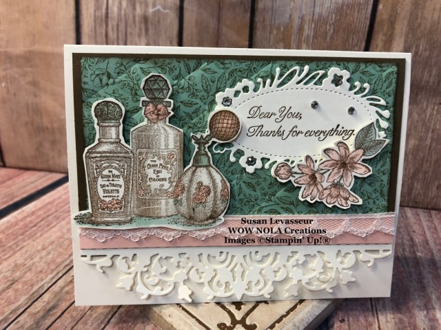 Fanciful Fragrance Thank You Card
