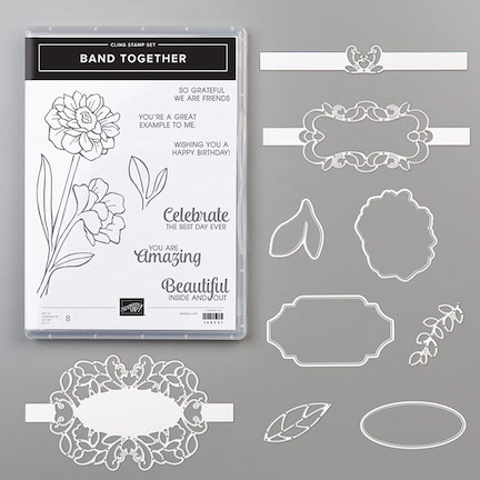 Band Together Bundle by Stampin' Up!