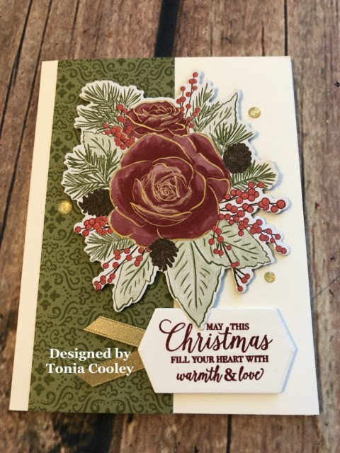 WOW Team Card Swap, Tonia Cooley, Stampin' Up!