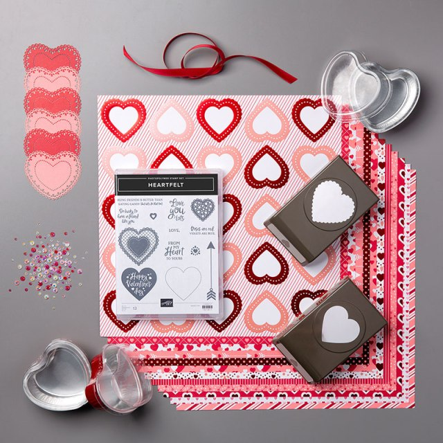 From My Heart Suite, Susan Levasseur, WOW NOLA Creations, Stampin' Up!