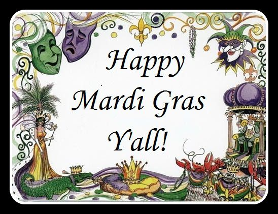 Happy Mardi Gras from New Orleans