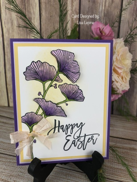 Lisa Lepine, Susan's WOW Team Easter Card Swap