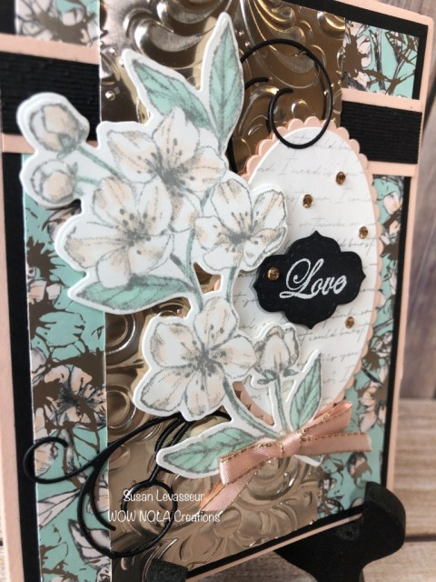 WOW Card Sketch #4, Susan Levasseur, WOW NOLA Creations, Stampin' Up!