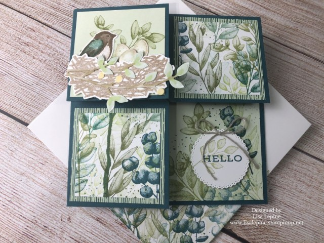 Annual Catalog WOW Team Card Swap, Susan Levasseur, WOW NOLA Creations, Stampin' Up!