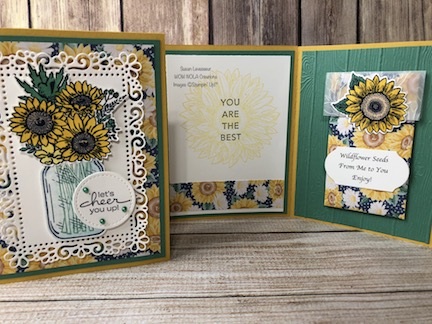 Tri-Fold Jar of Flowers, WildFlower Seed Packet, Susan Levasseur, WOW NOLA Creations, Stampin' Up!