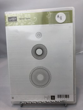 Stamp Set: Spiral Spins