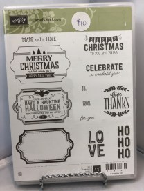 Stamp Set: Labels to Love