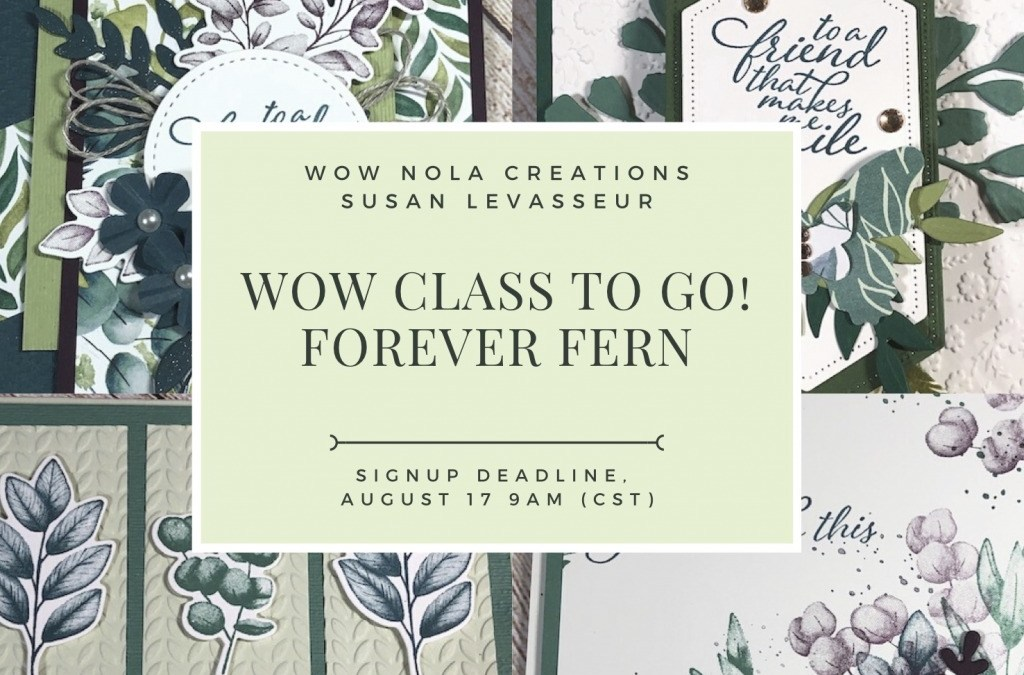 WOW Class to GO! Forever Fern