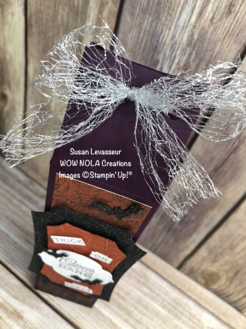 Hallow's Night 2-4-6-8 Treat Box, Susan Levasseur, WOW NOLA Creations, Stampin' Up!