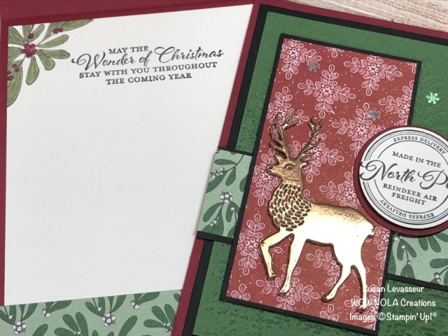 Wishes & Wonder, Susan Levasseur, WOW NOLA Creations, Stampin' Up!