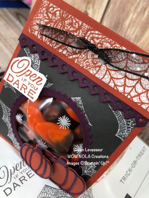 Halloween Treat, Susan Levasseur, WOW NOLA Creations, Stampin' Up!