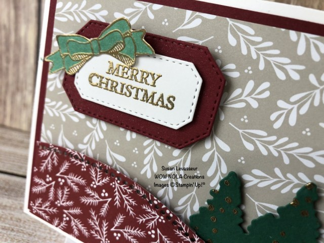 Curvy Christmas, Susan Levasseur, WOW NOLA Creations, Stampin' Up!