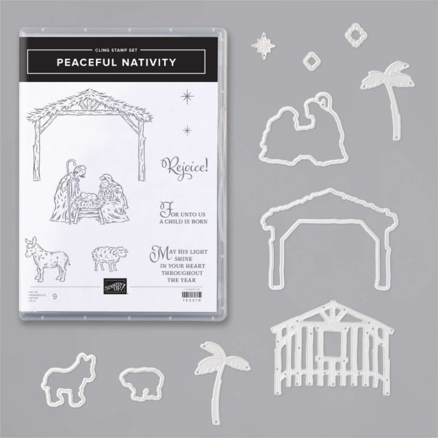 Peaceful Nativity Bundle, Susan Levasseur, WOW NOLA Creations, Stampin' Up!
