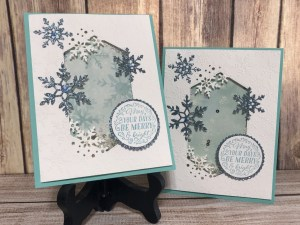 Snowflake Shaker with Snowflake Wishes