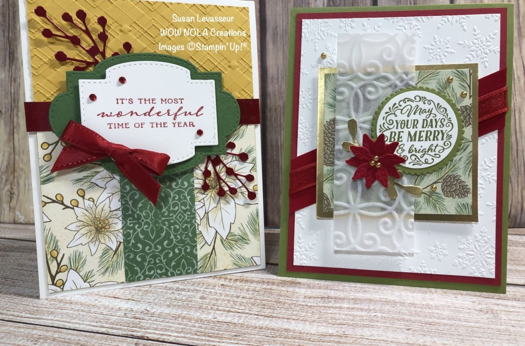 Wrapped in Christmas Quick Cards