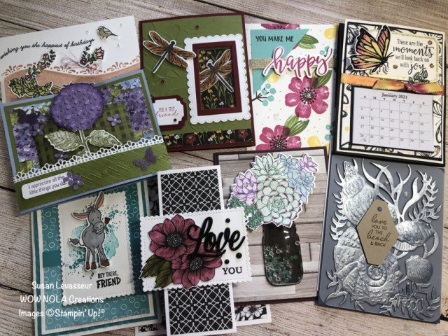 WOW Team Card Swap, Prize Giveaway, Susan Levasseur, WOW NOLA Creations, Stampin' Up!