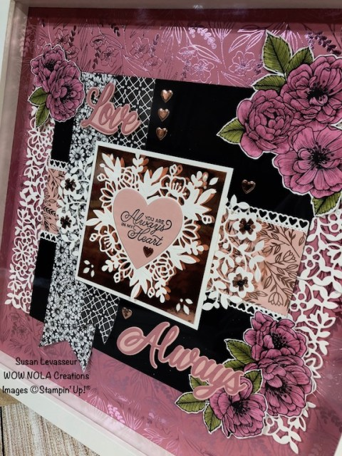 WOW Class to GO!, Always in My Heart, Susan Levasseur, WOW NOLA Creations, Stampin' Up!