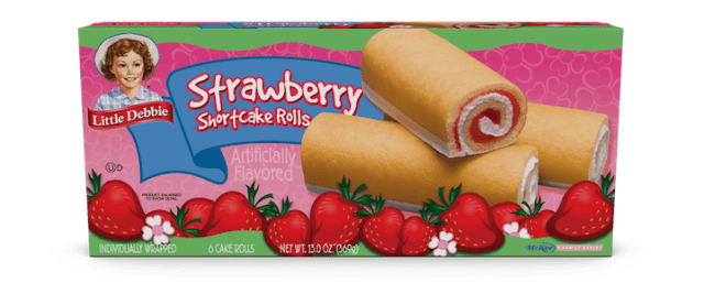 Little Debbie Strawberry Shortcake Rolls
