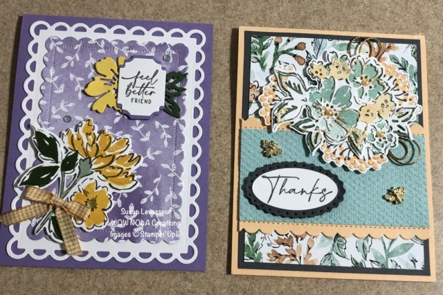 Hand Penned Bundle, Susan Levasseur, WOW NOLA Creations, Stampin' Up!