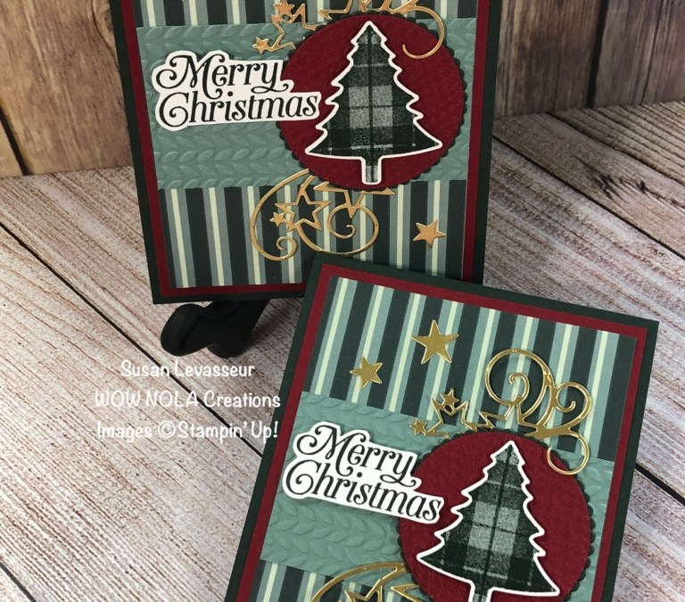 Mass Produce Perfectly Plaid Christmas Cards