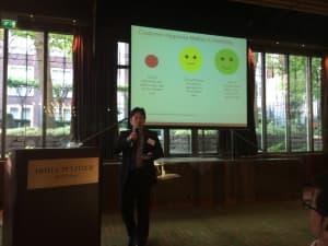 Roy Chandra, CustomerGauge, sharing insight on NPS versus retention