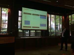 Adam Dorrell, CustomerGauge, sharing examples of (bad) NPS surveys
