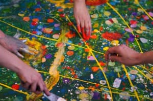 Painting together on our collective canvas