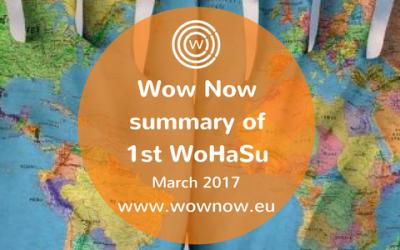 Wow Now Summary of 1st WoHaSu – March, 2017