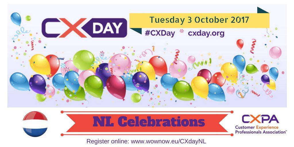 CX Day 2017 Celebration in the Netherlands