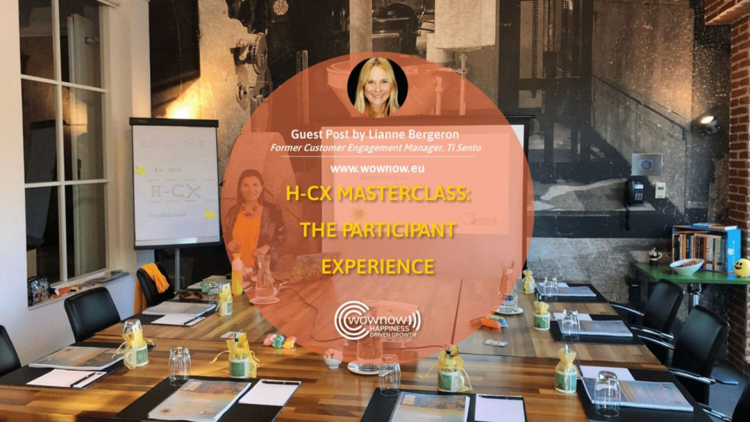 H-CX Masterclass: the participant experience