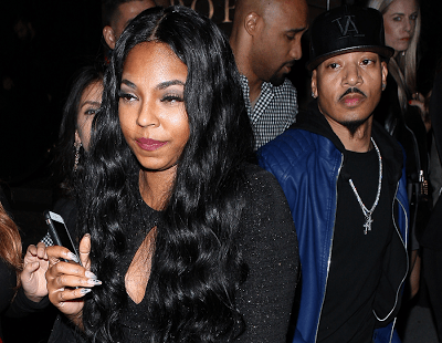 Ashanti steps out with new man (photos)