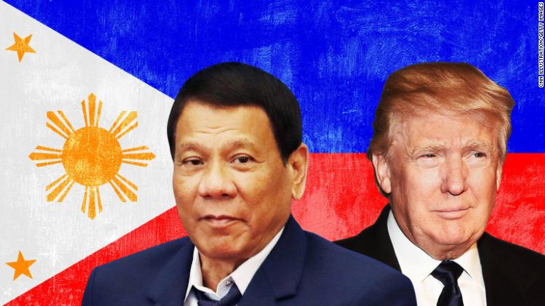 White House says Trump, Duterte 'briefly' discussed human rights but Philippine spokesman says they didn't