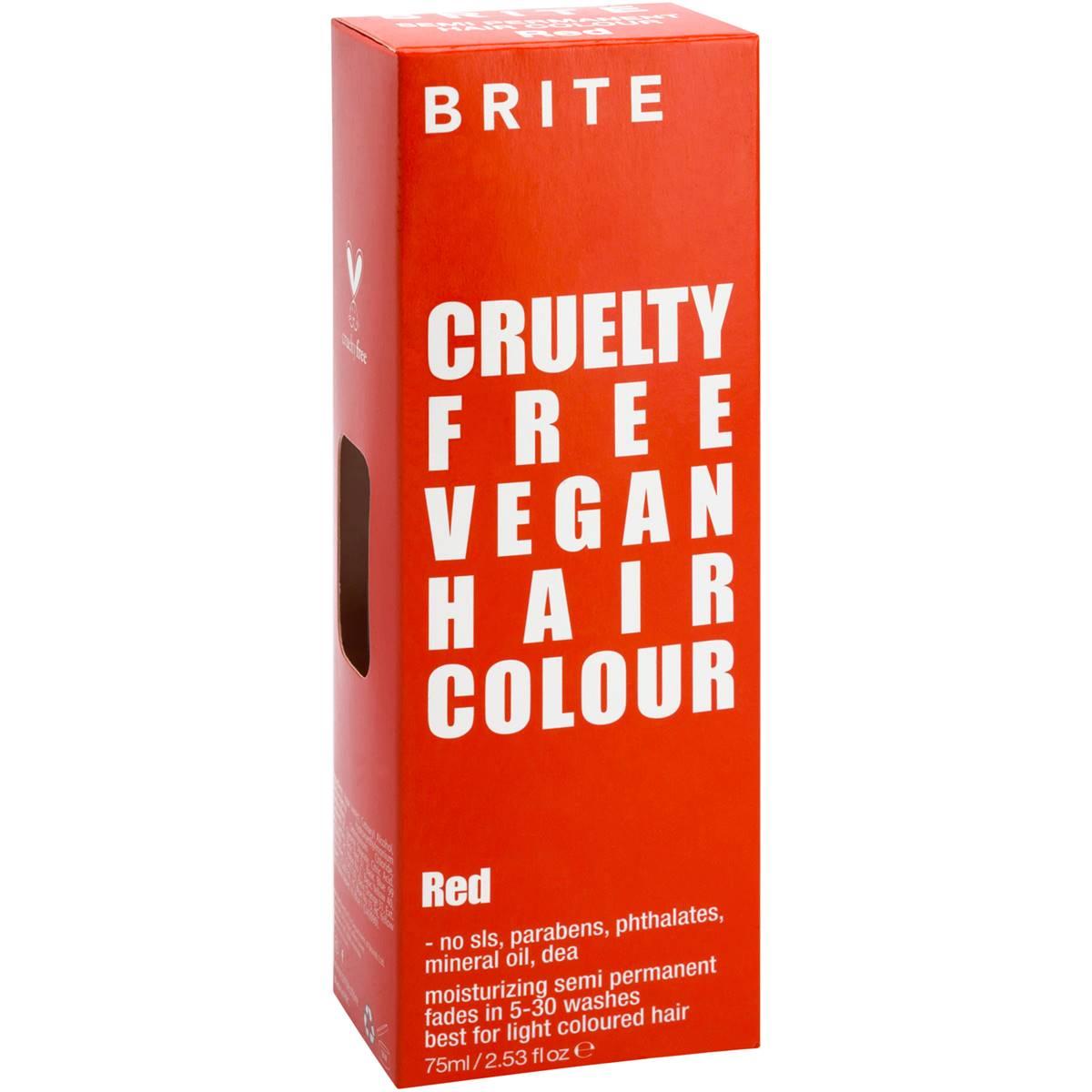 Brite Organix Semi Permanent Hair Colour Limited Edition ...