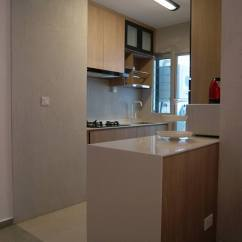 Kitchen Cabinet Storage Solutions Home Depot Cabinets An Ordinary Small Apartment In Singapore Made ...