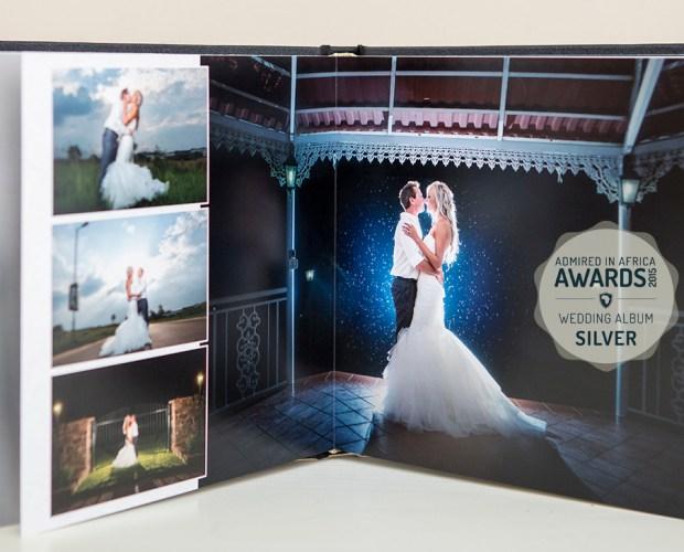 Admired in Africa Award for Wedding Album Design