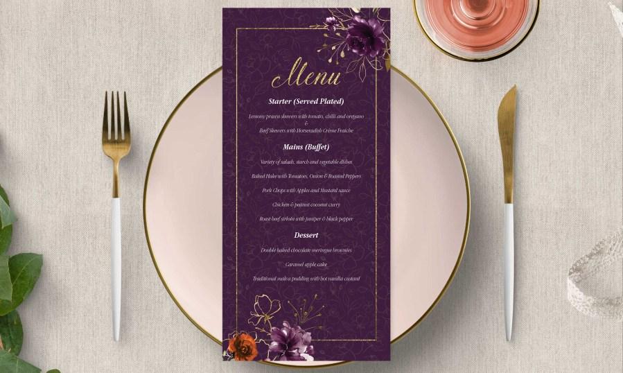 Wedding Stationery Designs by WOW Studio