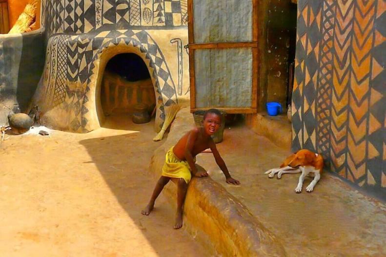 Tiébélé village - in Burkina Faso (13)