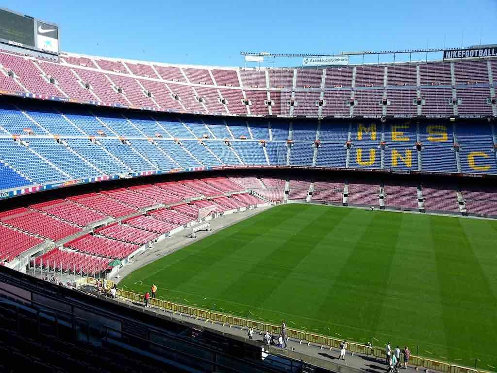 Camp Nou Stadium, Barcelona - by puppet:Pixabay
