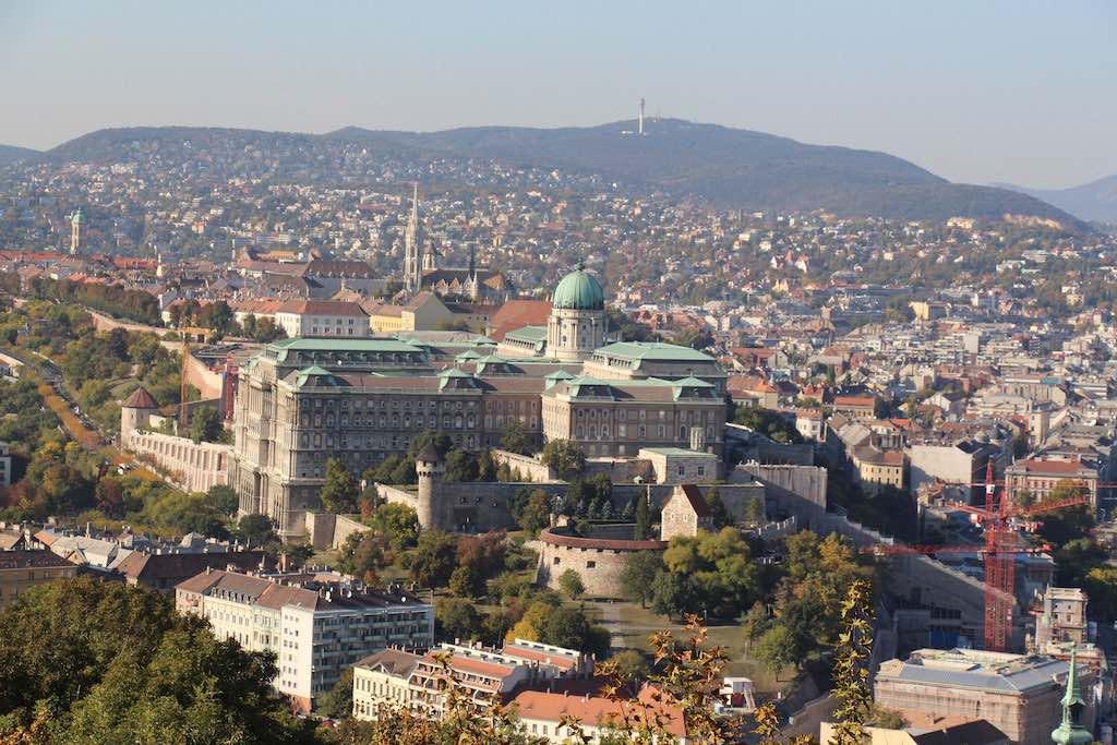 Gellért Hill, Budapest - by Michael Hill:Flickr