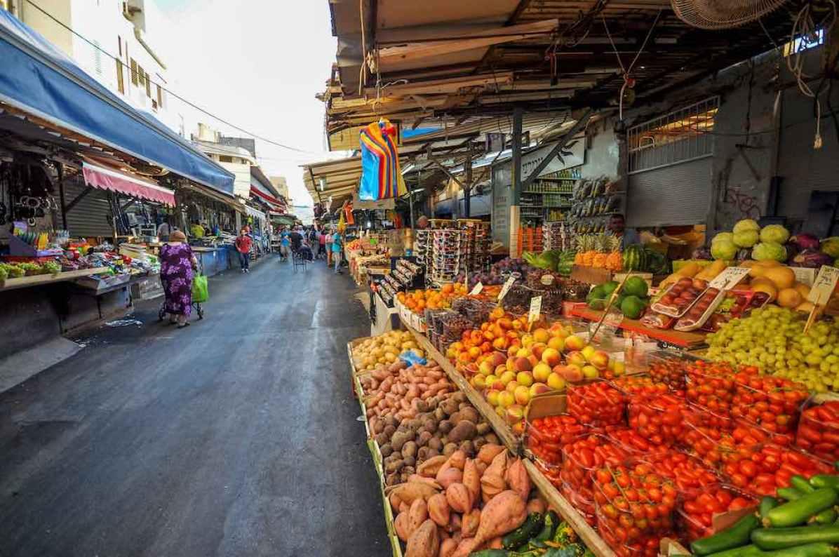 HaCarmel Market, Tel Aviv - by Jorge Láscar - Jorge Lascar/Flickr