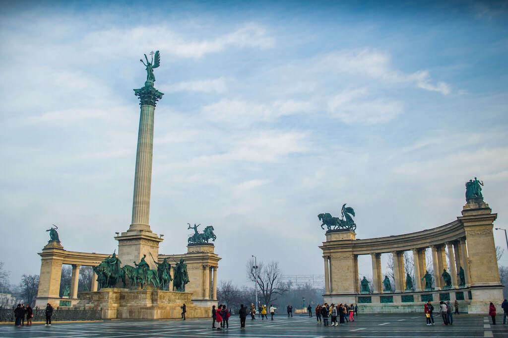 Heroes' Square, Budapest - by Ashwin Chanddrasekaran:Flickr