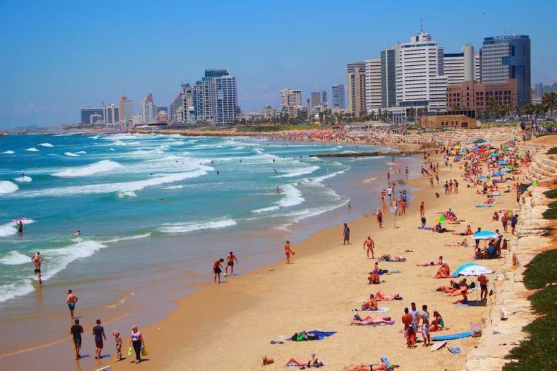 Tel Aviv Beach - Jerusalem Beach