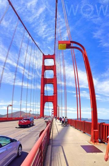 Golden Gate Bridge, San Francisco -by WOW Travel