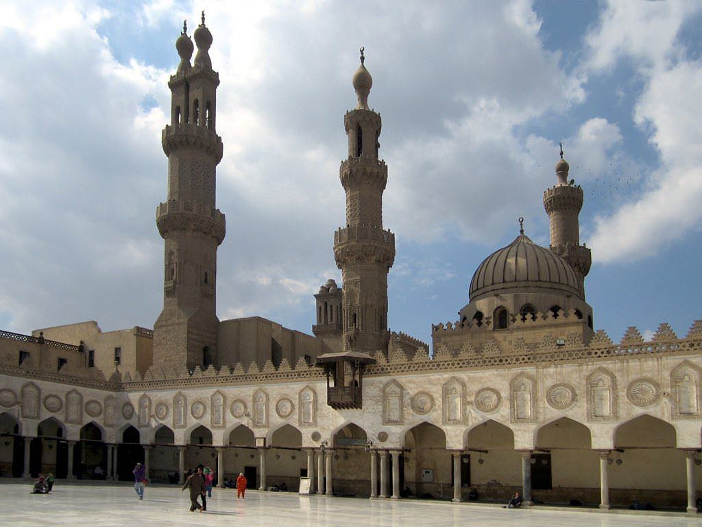 Al-Azhar Mosque, Cairo - by David Stanley - D-Stanley:Flickr